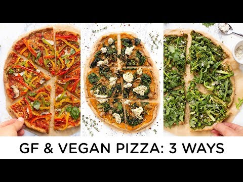 HOW TO MAKE VEGAN PIZZA ‣‣ 3 Amazing Pizza Recipes