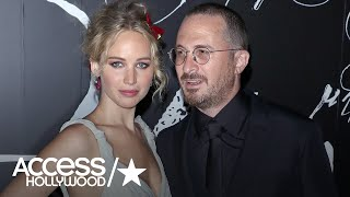 Jennifer Lawrence & Darren Aronofsky Split | Access Hollywood