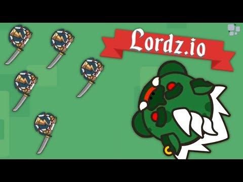 GIANT TROLLS attack the BLITZTIOPIAN ARMY! - Lordz.io Gameplay