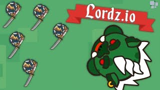 GIANT TROLLS attack the BLITZTIOPIAN ARMY! - Lordz.io Gameplay