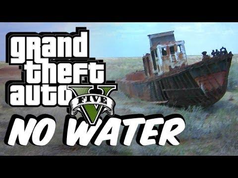 GTA 5 No Water Mod! (Underwaterworld Exploring FUN)