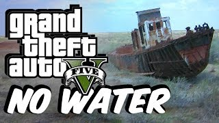 GTA 5 No Water Mod! (Underwaterworld Exploring FUN)