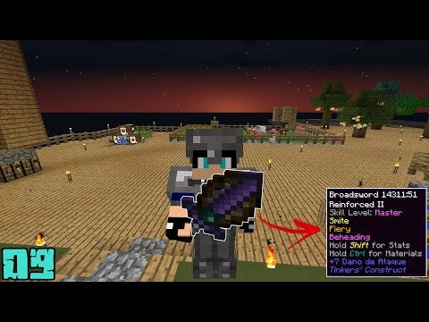 Minecraft: Espada TOP !! - Agrarian Skies 09 ‹ Alone ›