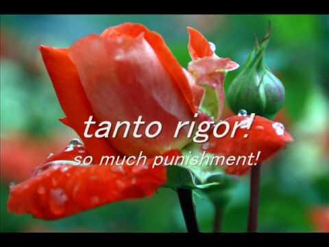 Caro mio ben by G. Giordani, sung by YK with karao...