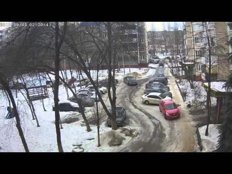 ДТП (Липецк,проезд Сержанта Кувшинова, 1) 14:35 06.02.2016