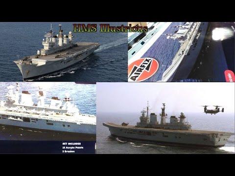 HMS Illustrious part 14 weathering