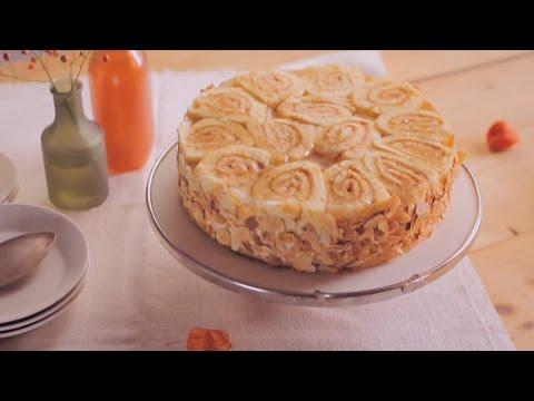 Rezept: Apfel-Calvados-Torte Von Dr. Oetker