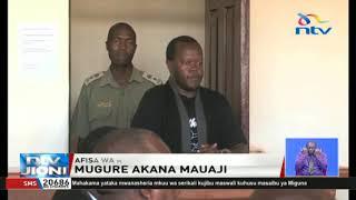 Aliyekuwa afisa wa KDF Peter Mugure akana kuua mke na watoto wawili