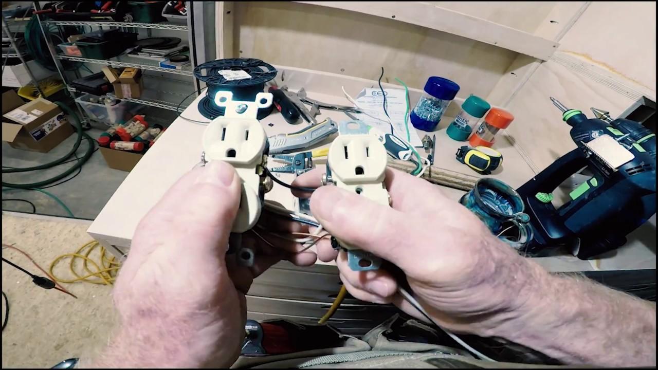 building my woodshop #30: wiring