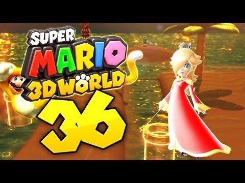 Let's Play Super Mario 3D World - Part 36 - Mimimi am Strand