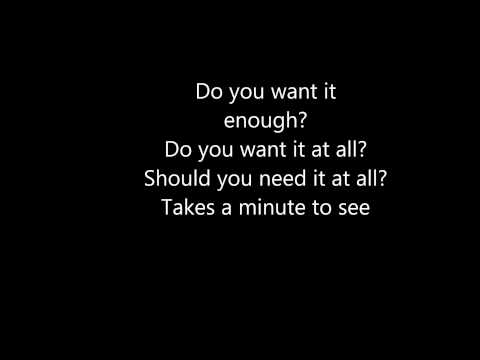 Chevelle - I Get It Lyrics