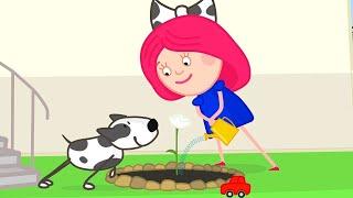 Cartoon mit Kinderlieder. Farben Lernen mit Smarta. Zeichentrick für Kinder