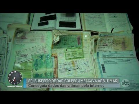 Homem que cometeu mais de 500 golpes é preso em São Paulo | Primeiro Impacto (04/09/18)