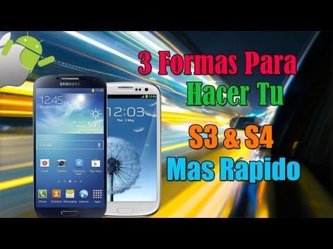 3 Maneras Para Hacer Tu S3 & S4 O Cualquier Samsung Mas Rapido