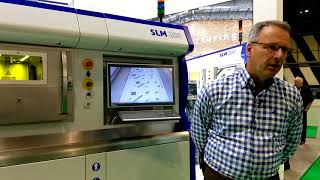 SLM Solutions talks fully automated metal AM production at TCT Show