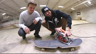 TRY NOT TO BREAK THIS SKATEBOARD! / Warehouse Wednesday