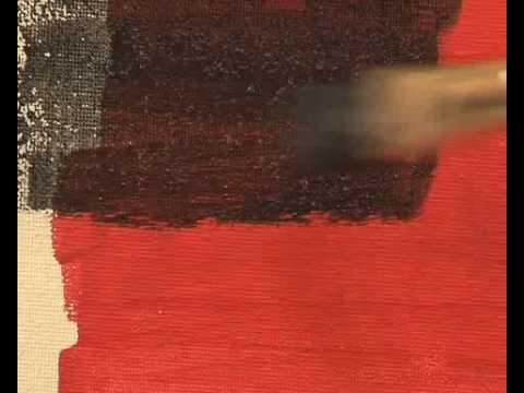 Acr lico youtube - Pintura acrilica pared ...