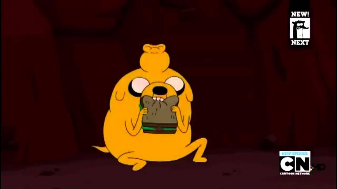 Adventure Time Jake Eats The Quot Sandwich Quot Youtube