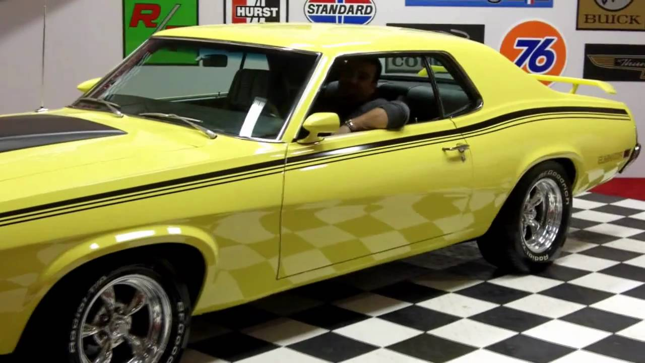 1970 Mercury Cougar Boss 302 Classic Muscle Car for Sale in MI ...
