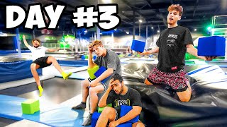 Last To Leave Trampoline Park Wins EPIC PRIZE