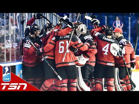 Canada ties it with 0.4 SECONDS LEFT, Mark Stone sends them to semis with OT winner