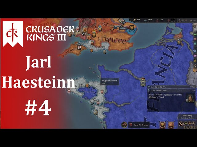 Give Me that Crown! Crusader Kings III: I Just Can't Wait to Be King, Part 4