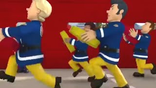 Fireman Sam US 🚒The Big Firefighter Race | Best Moments | Fire Rescue 🔥 Kids Movie
