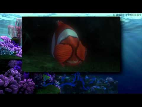 """Finding Nemo - """"Fish Are Friends Not Food"""" (One Line Multilanguage) [HD]"""