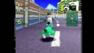 Bomberman Fantasy Race PlayStation Gameplay_1998_12_16