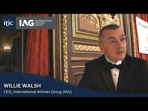 IAG's Willie Walsh speaks exclusively to ITIC