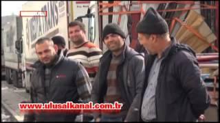İran sınırında 11 km TIR kuyruğu