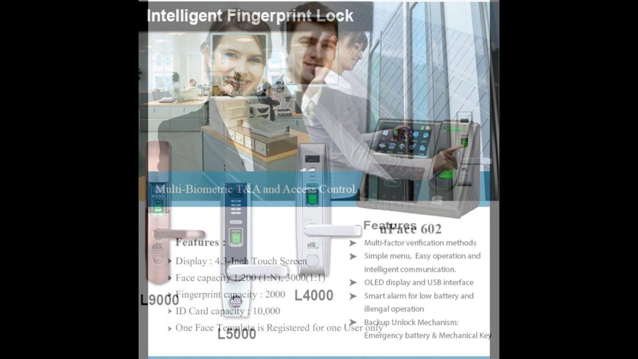 Biometric Attendance System, IP Camera, NVR, ID card Printer, Access Control
