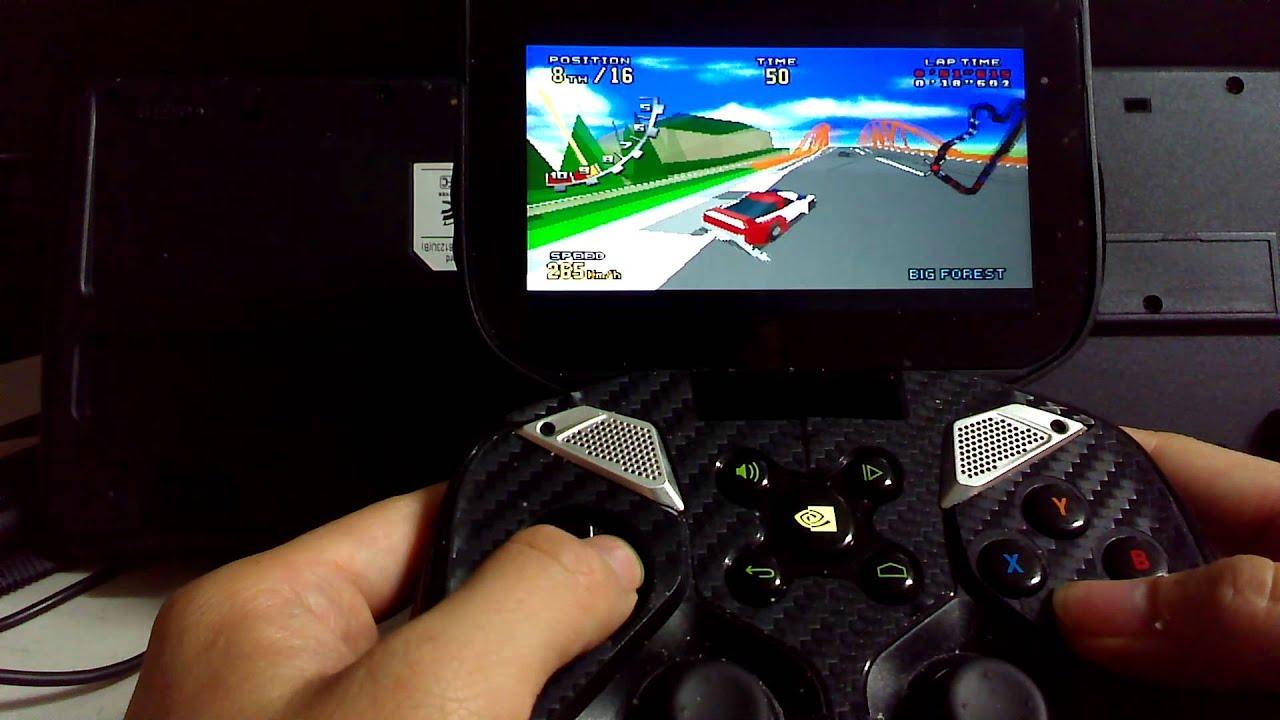 RetroArch sega 32x NVIDIA Shield Virtua Racing Deluxe (엔비디아쉴드 버철레이싱 디럭스)
