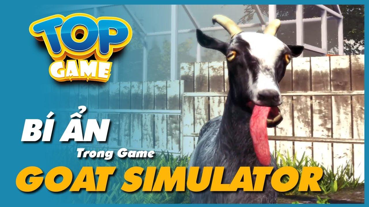 Bí Mật cực hài ẩn giấu trong tựa game Goat Simulator   Cờ Su Original