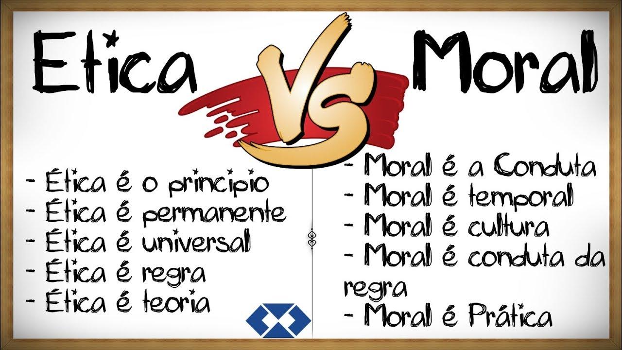 Ética x Moral: Como diferenciar?? || Conceitos, definições || - YouTube
