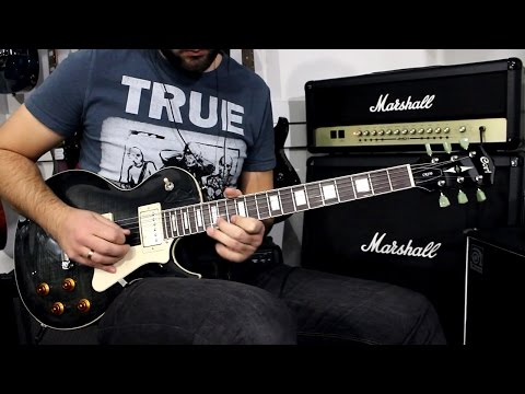 CORT CR250 TBK - Demo Guitar