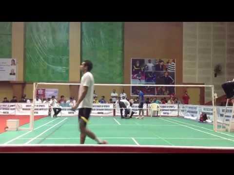 Neeraj Vashist vs Akshit Mahajan   Haryana State Final   2015
