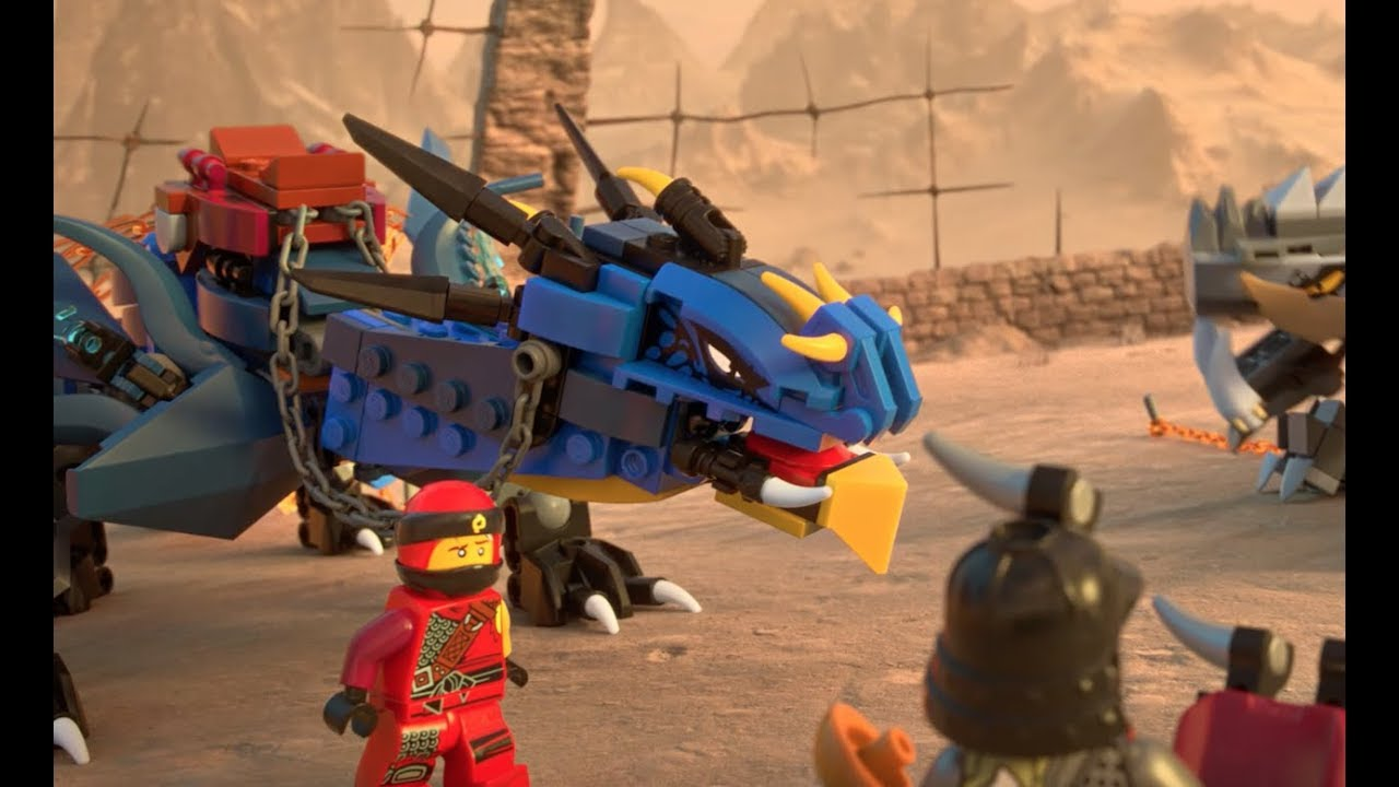 dragon pit duel lego ninjago free the dragons youtube