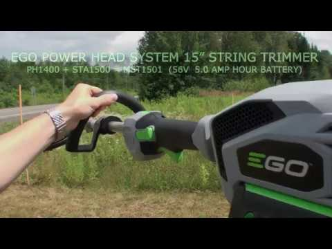 EGO MST1501 POWER HEAD STRING TRIMMER  (15'x15'Area Test)