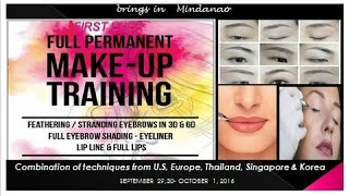 Full Permanent Makeup Training in Mindanao || Busyqueenphils Feature
