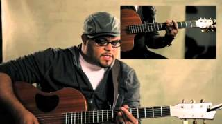 Jesus At the Center (Guitar Tutorial) by Israel Houghton