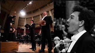 Ausschnitt aus dem Verdi Requiem am 13. 10. 2019 im Wiener Konzerthaus