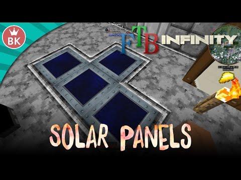 "Minecraft FTB Infinity Evolved - ""Solar Panels!"" (E07)"