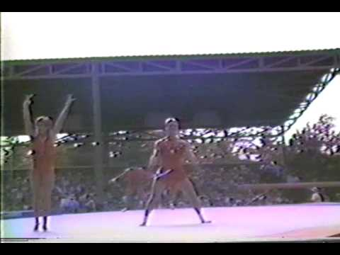 WTF Kurt Thomas Gymnastics America Show at Sea World Part 1