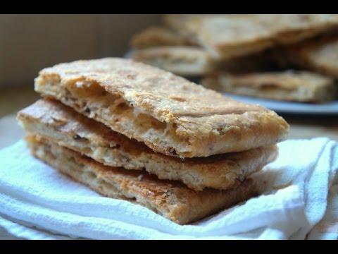 Msemen Onion Bread Recipe - How to Make Baked Msemen Onion Bread