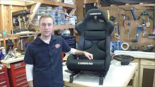 c5 corvette corbeau fx1 race seat and marrad arizen seat mounts sliders