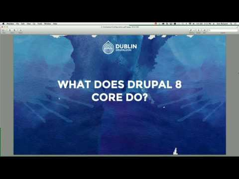 DrupalCon Dublin 2016: Contextual configuration in core: do we want it and can we do it?