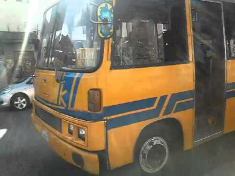 Barbados minibus music