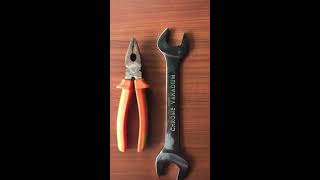 CHROMIUM-VANADIUM TOOLS AND IRON TOOLS