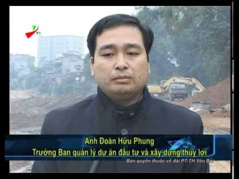 Đài phát thanh   truyền hình Yên Bái   Thời sự chính trị  Đẩy nhanh tiến độ thi công công trình kè s